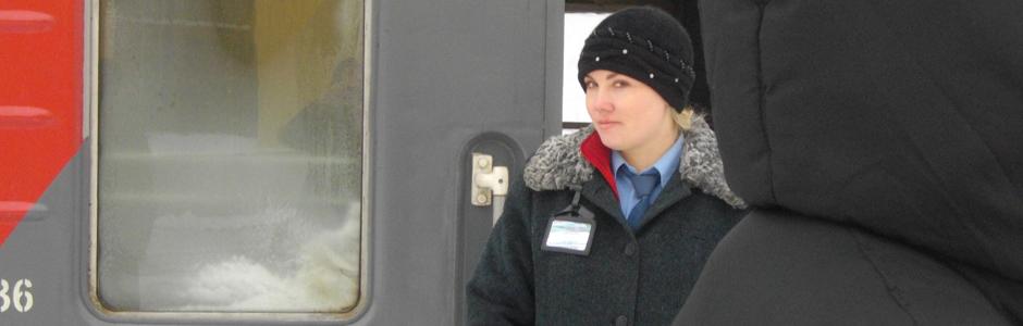 trein Perm – Moskou – 2010